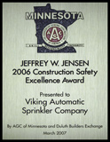 Jeffrey W Jensen Award