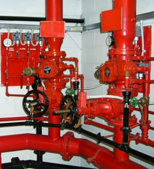 Wet Pipe Fire Sprinkler Systems Viking Automatic